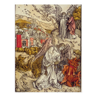 Ángel con la llave del abismo, 1498 tarjetas postales