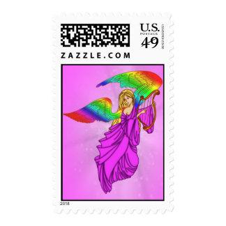 Ángel con las alas del arco iris envio