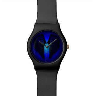 Ángel con túnica reloj de mano
