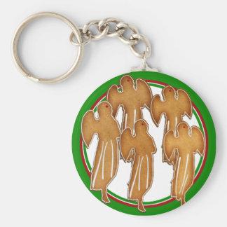 Angel Cookie Choir Key Chains