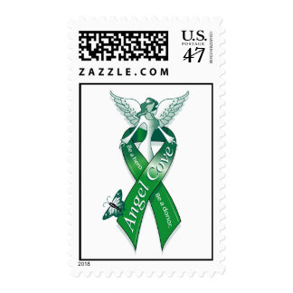 Angel Cove Logo Postage