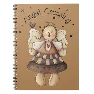 Angel Crossing Notebook