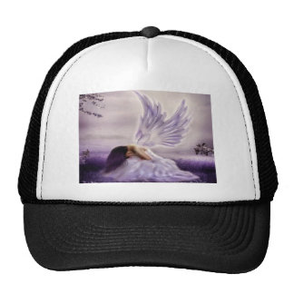 angel crying.jpg trucker hat