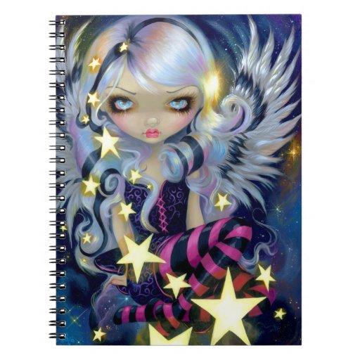 """""""Ángel cuaderno de la luz de las estrellas"""""""