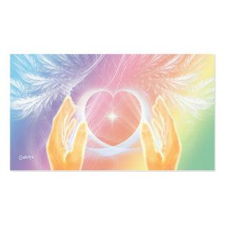 Ángel curativo tarjetas de visita