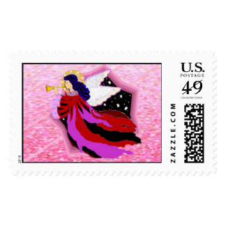 Angel Custom Postage Stamps