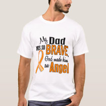 Angel Dad Leukemia T-Shirt