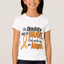 Angel Daddy Leukemia T-Shirt