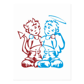 Angel & Daemon Postcard