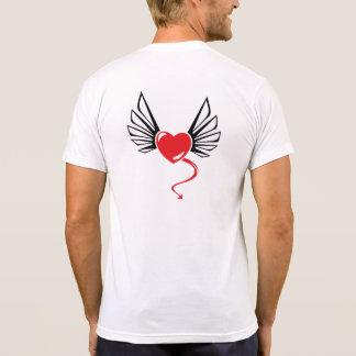 Angel & Damon Back Tshirt