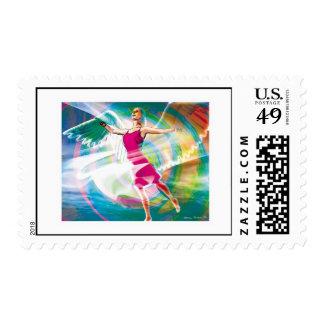 Angel Dance 2 Postage Stamp