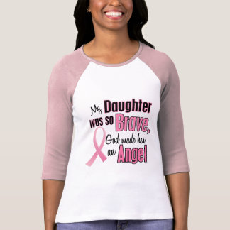 Angel DAUGHTER Breast Cancer T-Shirts & Apparel