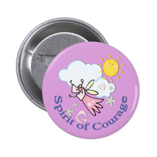 Angel Daughters of Support 2 Inch Round Button