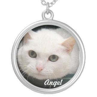 Angel DCIN Keepsake Round Pendant Necklace