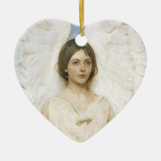 Ángel de Abbott Thayer bella arte del Victorian d Ornatos