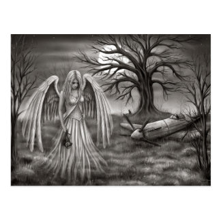 Ángel de almas postal