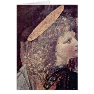Ángel de Andrea del Verrocchio Tarjeta De Felicitación