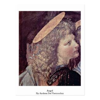 Ángel de Andrea del Verrocchio Postales