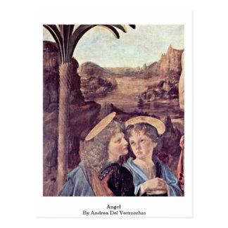 Ángel de Andrea del Verrocchio Tarjetas Postales