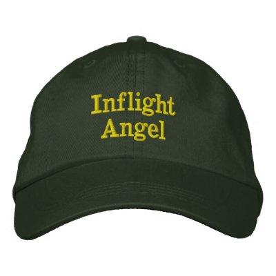 Ángel de aviones gorras de béisbol bordadas
