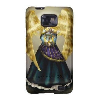Ángel de Chanukah Galaxy S2 Carcasa
