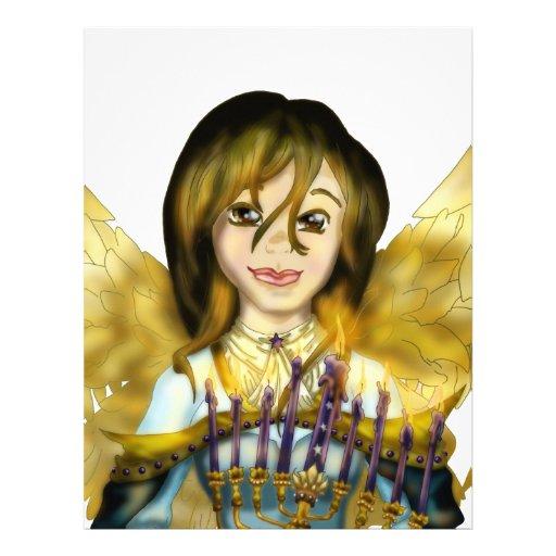 Ángel de Chanukah Membrete