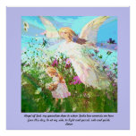 Ángel de dios, mi guarda querido posters