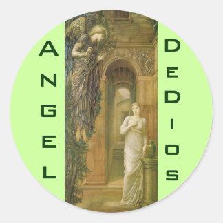 Angel de Dios stickers