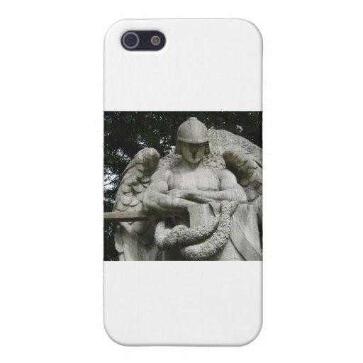 Ángel de guarda 3 iPhone 5 protectores
