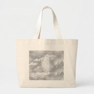 Ángel de guarda bolsa tela grande