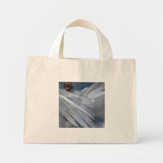 Ángel de guarda bolsa tela pequeña