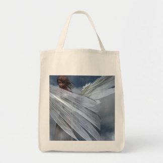 Ángel de guarda bolsa tela para la compra
