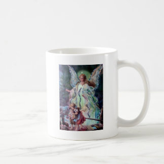ÁNGEL de GUARDA C. 1900 Tazas De Café