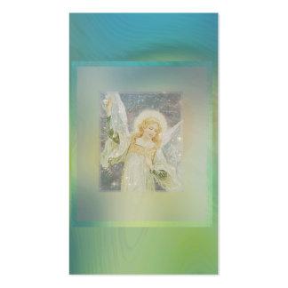 Ángel de guarda conmemorativo de la tarjeta el | tarjetas de visita