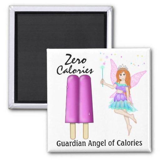 Ángel de guarda de calorías por SRF Imán Para Frigorífico
