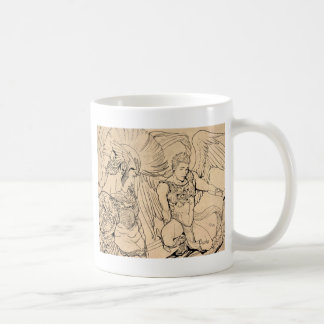 Ángel de guarda de Joe Phillips Tazas De Café