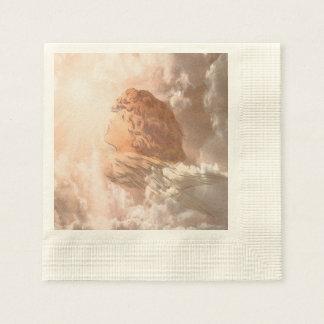 Ángel de guarda de la fe servilletas de papel