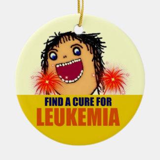 Ángel de guarda de la leucemia adorno