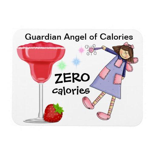 Ángel de guarda de las calorías - SRF Imanes Flexibles