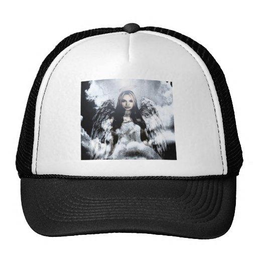 Ángel de guarda hermoso gorras