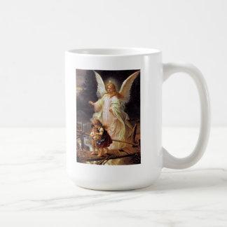 Ángel de guarda taza de café