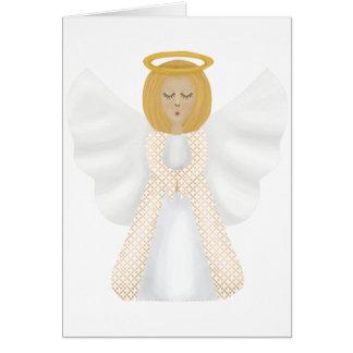 Ángel de guarda tarjeta de felicitación