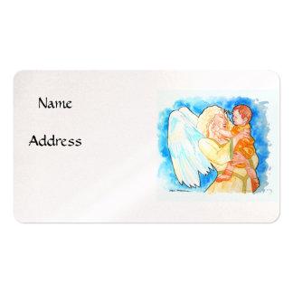 Ángel de guarda tarjetas de visita