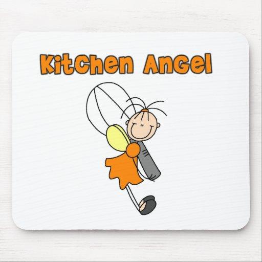 Ángel de hadas Mousepad de la cocina Tapete De Ratones