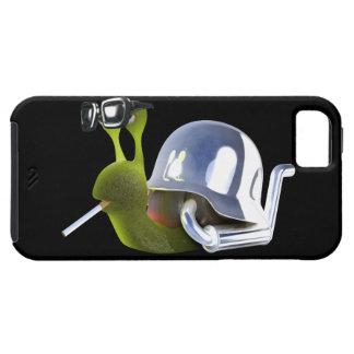 ángel de infiernos del caracol del motorista 3d funda para iPhone SE/5/5s