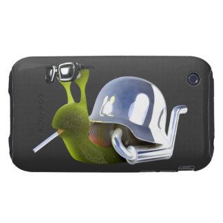 ángel de infiernos del caracol del motorista 3d iPhone 3 tough carcasas