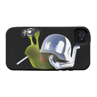 ángel de infiernos del caracol del motorista 3d vibe iPhone 4 carcasa
