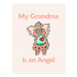 Ángel de la abuela tarjetas postales