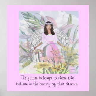 Ángel de la aceptación póster