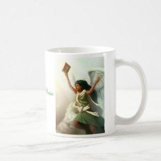 Ángel de la alabanza, ángel de la alabanza taza de café